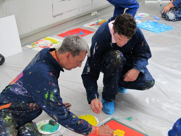 Workshop action painting breda — pic 2