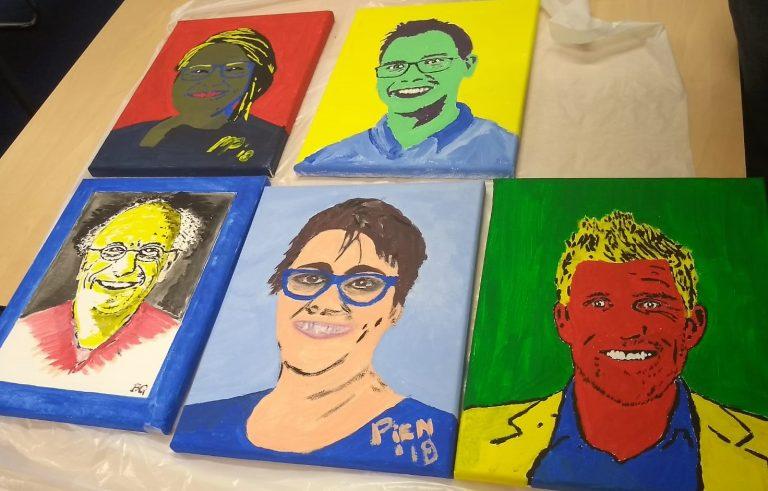 Portret Schilderen Workshop Laat De Creatieveling In Je Los Bij
